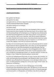 Rede von Dr. Ingeborg Kreuz als PDF-Datei - Kassenärztliche ...