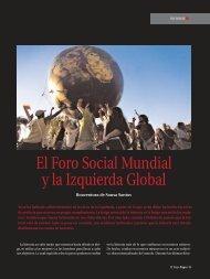 El Foro Social Mundial y la Izquierda Global