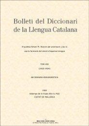BDLC XIII - Institut d'Estudis Catalans