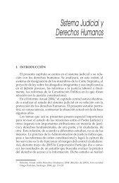 Sistema Judicial y Derechos Humanos - Centro de Derechos ...