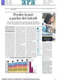 Recull de Premsa - Hospital Sant Pau