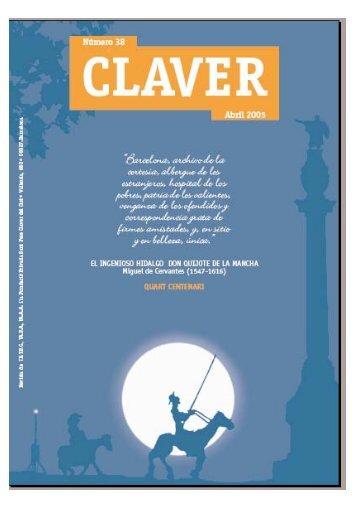 Revista Claver 38 Abril 2005