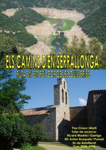 Els camins d'en Serrallonga - Ajuntament de Sant Hilari Sacalm