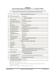 Anlage 10 Dokumentationsbogen nach Anlage 2 ivm Anlage 12 RSAV