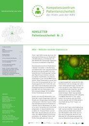 Ausgabe 3 / 2012 - Kassenärztliche Vereinigung Westfalen-Lippe