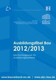 Ausbildungsfibel_2012-2013.pdf - ABC-Bau