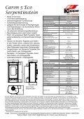 Technische Daten - Seite 2