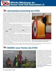 Ausgabe 5 / 2009 - Kreuzer Yacht Club Deutschland e.V.