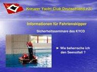 Präsentation ansehen - Kreuzer Yacht Club Deutschland e.V.