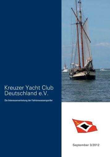 Die Ausweichregeln der KVR - Kreuzer Yacht Club Deutschland e.V.