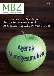 MBZ Ausgabe 04/2013 - Zahnärztekammer Berlin
