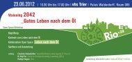 RZ_10.03.2012_Visioning 2042.indd - Lokale Agenda 21 Trier eV