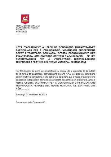 errades plec administratiu 2 - Ajuntament de Santanyí