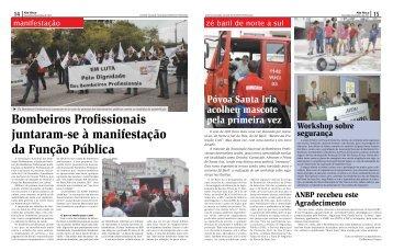 Bombeiros Profissionais juntaram-se à manifestação da ... - ANBP