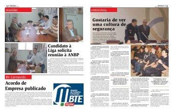 Acordo de Empresa publicado - ANBP