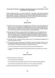 Satzung über die Erhebung von Gebühren über die ... - Stadt Laatzen