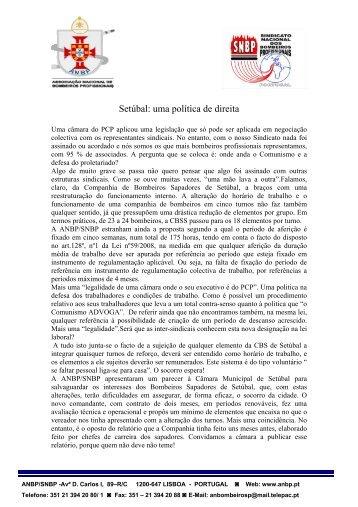 Setúbal: uma política de direita - ANBP