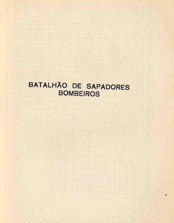 BATALHÃO DE SAPADORES BOMBEIROS - Hemeroteca Digital