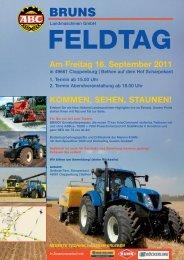 FELDTAG - August Bruns Landmaschinen GmbH