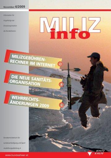 information - Österreichs Bundesheer