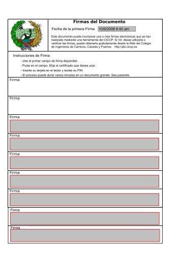 Firmas del Documento - Ajuntament de Santanyí
