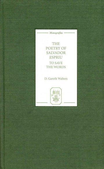 The Poetry of Salvador Espriu - Marshalls University