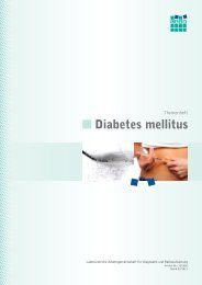 Themenheft Diabetes mellitus - LADR