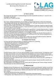 Download Satzung LAG - Landesarbeitsgemeinschaft Soziale ...