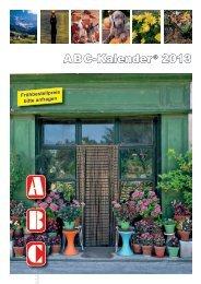 ABC - Kalender® schenken jeden Tag ein bisschen Freude!
