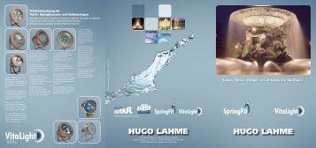 HUGO LAHME HUGO LAHME - Hugo Lahme GmbH