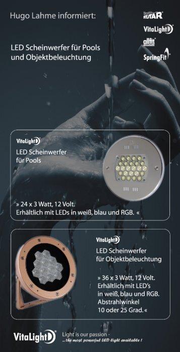 Flyer 2 Seiten - Hugo Lahme GmbH