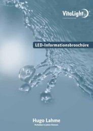Allgemeine Informationen LED-Beleuchtungstechnik - Hugo Lahme ...