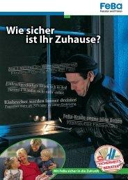 Wie sicher ist Ihr zu Hause? - Lahn-Metallbau GmbH