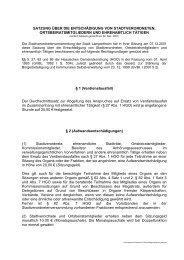 0-3 Entschädigungssatzung - Stadt Lampertheim