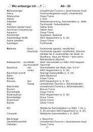 .:Wo entsorge ich ...? :. Ab - Di - Stadt Lampertheim