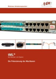 tML-Flyer-Vers.3-DE.pdf - LAN4 - IT und Consulting GmbH