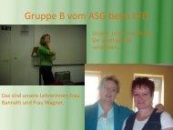 Gruppe B vom ASG beim LFD - Landesfilmdienst Thüringen eV