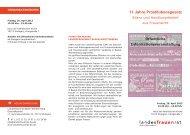 11 Jahre Prostitutionsgesetz - Landesfrauenrat Baden-Württemberg