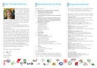 Einladung mit Tagesordnung, Delegiertenliste, und Ausschreibung