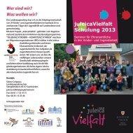 Ausschreibung Juleica Vielfalt 2013 web - Landesjugendring Saar