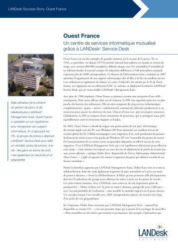 Lire l'article (French) - LANDesk