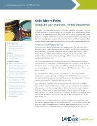 Kelly-Moore Paint - LANDesk