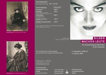 bilder machen leute - Rheinisches Landesmuseum Trier