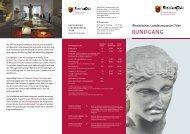 RuNDGANG - Rheinisches Landesmuseum Trier