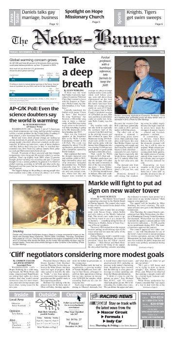 Holiday - Bluffton News Banner