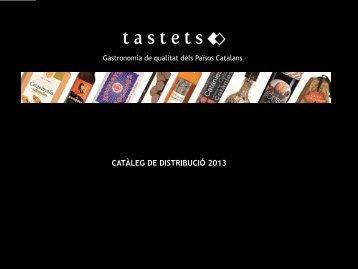 Catàleg de Distribució - Tastets