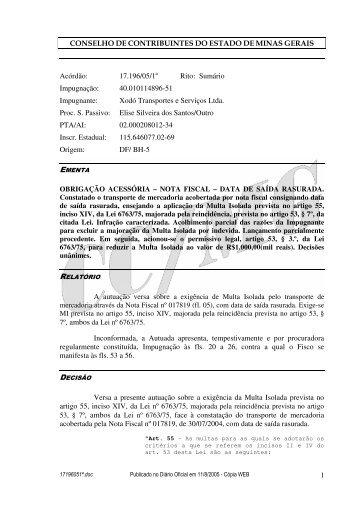 Microsoft Word - 17196051\252.doc - Secretaria de Estado de ...
