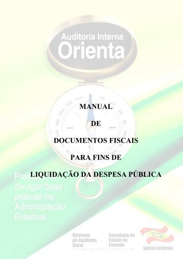 Manual de Documentos Fiscais - Secretaria de Estado da Fazenda ...