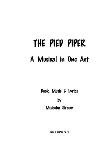Pied Piper Junior Script - Dotdismus