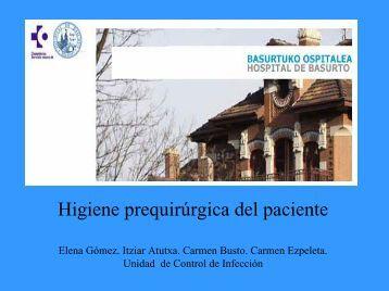 HIGIENE DEL PACIENTE QUIRURGICO - ACICI